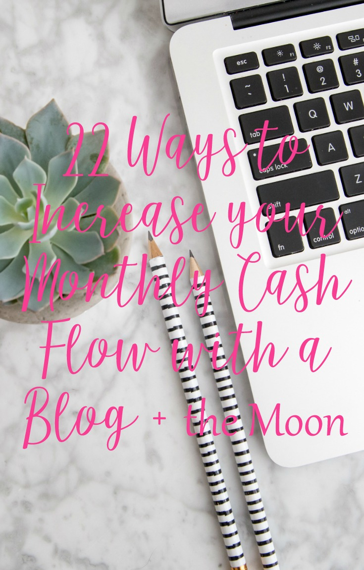 22 Ways to Increase Cash Flow (some are woo woo) with CeeLeeReed.com