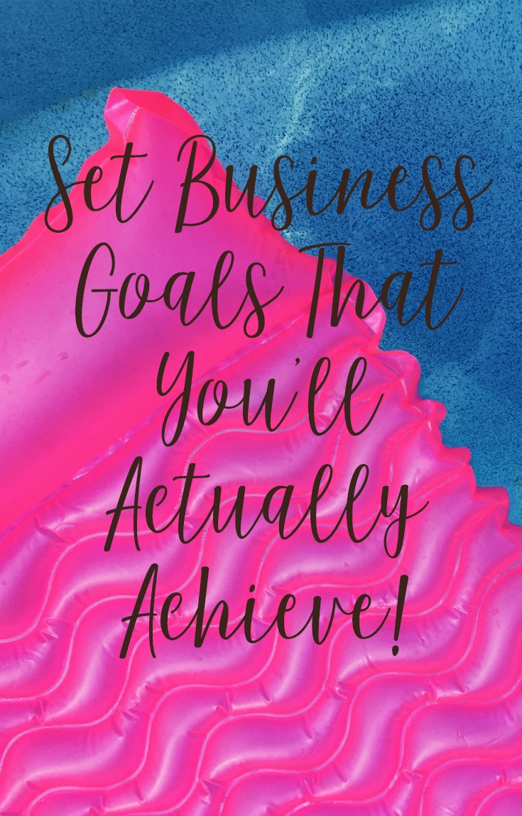 Set Business Goals That You'll Actually Achieve with Cee Lee Reed