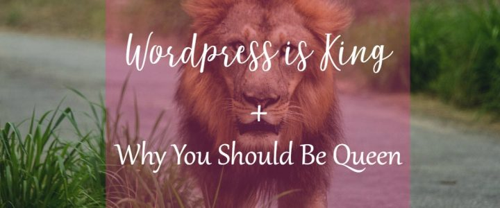 Wordpress is King. Be the Queen with CeeLeeReed.com