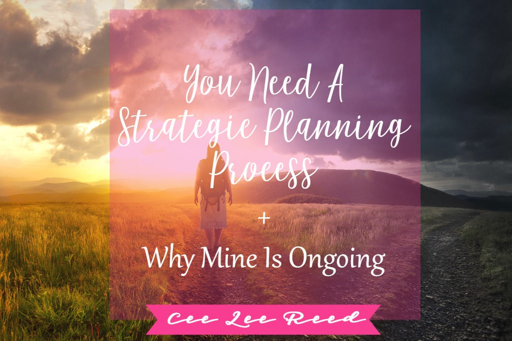 You need a Strategic Planning Process and CeeLeeReed.com shows you why