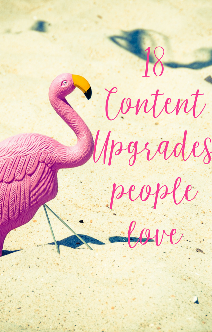 18 Content Upgrades People Love from CeeLeeReed.com