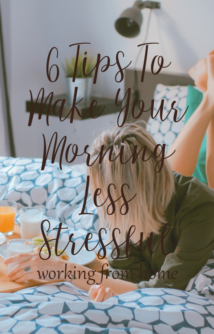 6 Tips to make your morning less stressful with CeeLeeReed.com