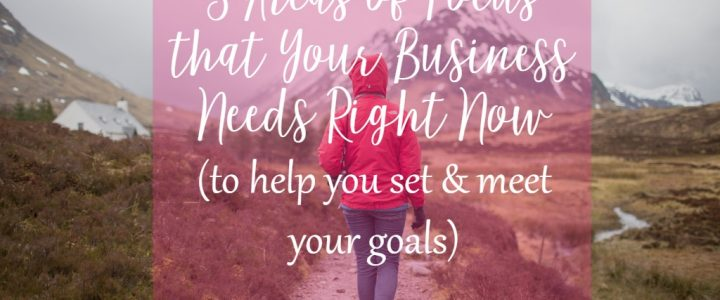 3 Areas of Focus that Your Business Needs Right Now by CeeLeeReed.com