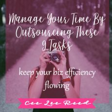 Manage time by outsourcing these 9 tasks + keep your biz efficiency flowing