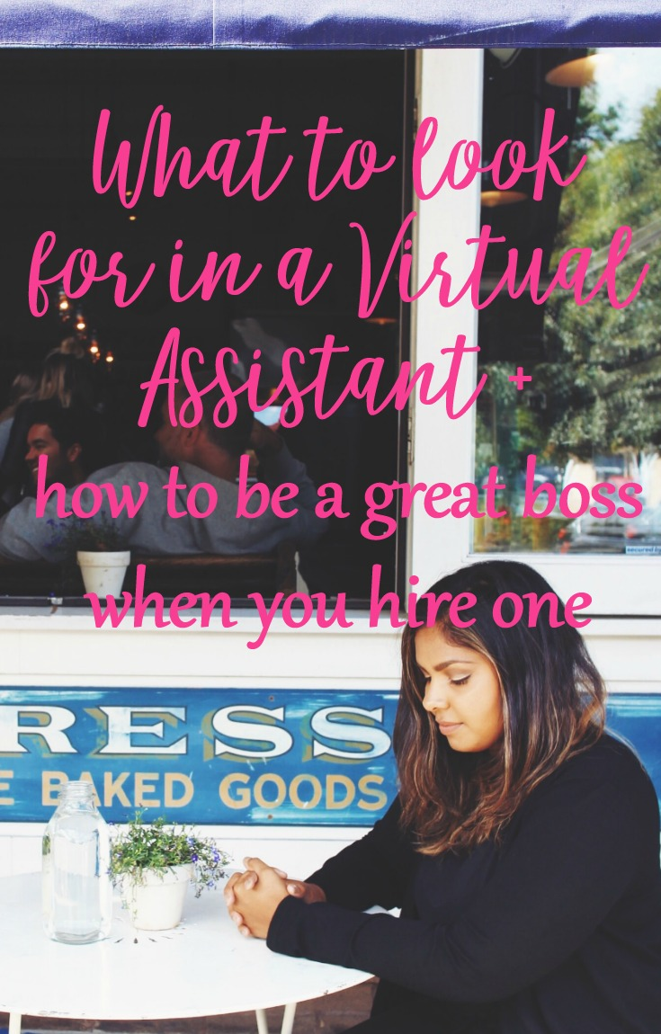 What to look for in a Virtual Assistant on CeeLeeReed.com