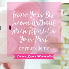 Awesome ways to grow your biz income without much effort!