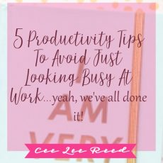 Productivity tips to avoid just looking busy at work (we've all done it)