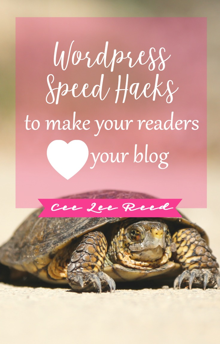 Wordpress Speed Hacks Your Readers Will Love by CeeLeeReed.com