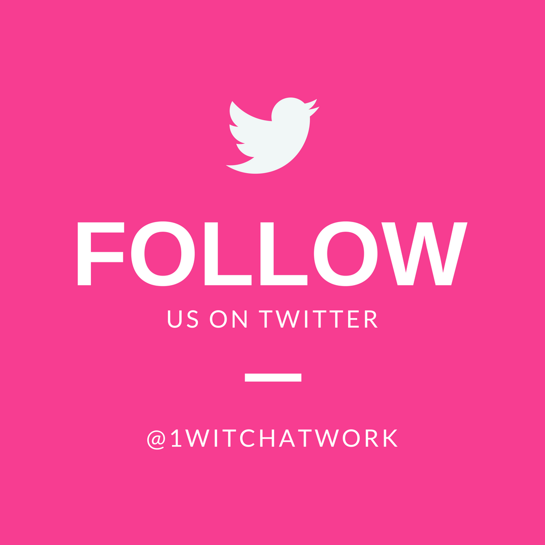 Twitter @1WitchAtWork